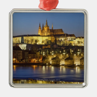 Hradcany Castle Metal Ornament