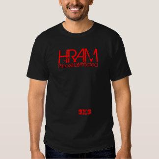 HRAM, 3X3, PHA T SHIRT