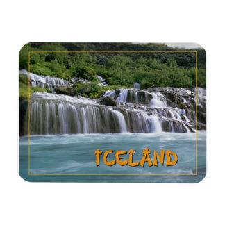 Hraunfossar baja Islandia Iman Flexible