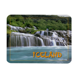 Hraunfossar Falls Iceland Magnet