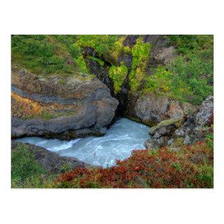 Hraunfossar I Postcard