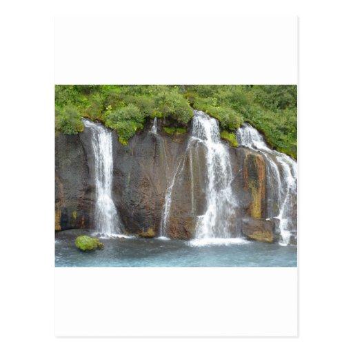 Hraunfossar Postcards