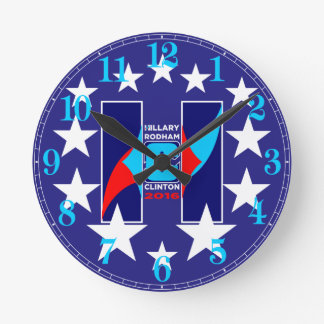 """""""HRC"""" en las estrellas 2016 Reloj Redondo Mediano"""