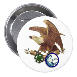 HRC for USA Pinback Button