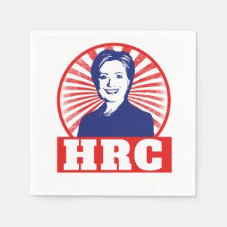 HRC Hillary Clinton 2016 Servilleta Desechable