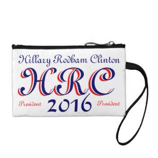 HRC Hillary Rodham Clinton President 2016 Change Purse