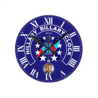 """HRC"" In Stars 2016 Round Clocks"