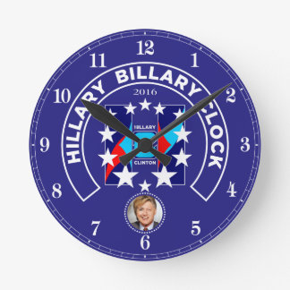 """""""HRC"""" In Stars 2016 Round Wall Clock"""