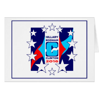"""""""HRC"""" In Stars 2016 Greeting Card"""