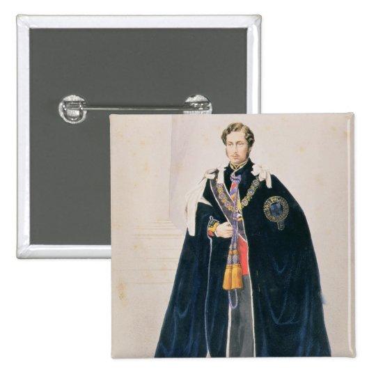 HRH Albert Edward, Prince of Wales Button