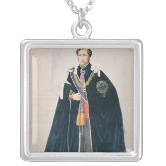 HRH Albert Edward, Prince of Wales Silver Plated Necklace