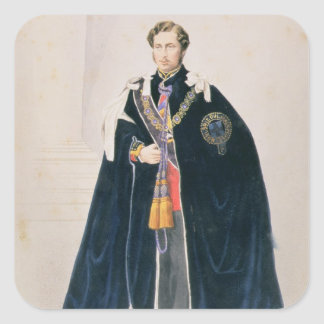 HRH Albert Edward, Prince of Wales Square Sticker