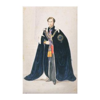 HRH Albert Edward, Príncipe de Gales Impresión En Lienzo