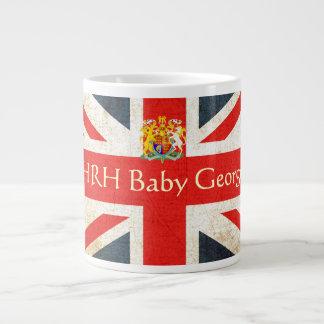 HRH Baby George Coat of Arms Jumbo Mug