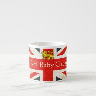 HRH Baby George Heraldry Lion Espresso Mug
