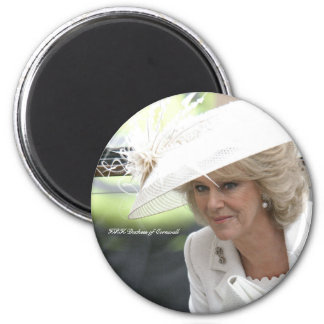 HRH Duchess of Cornwall 2 Inch Round Magnet