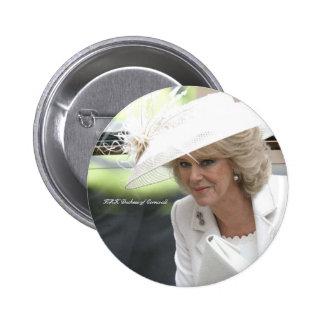 HRH Duchess of Cornwall Button