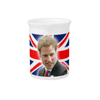 HRH Duke of Cambridge - Stunning! Drink Pitchers