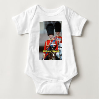 HRH Duke of Edinburgh Baby Bodysuit