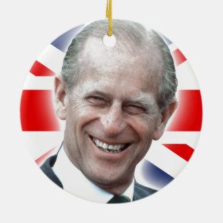 HRH Duke of Edinburgh - Great! Ceramic Ornament