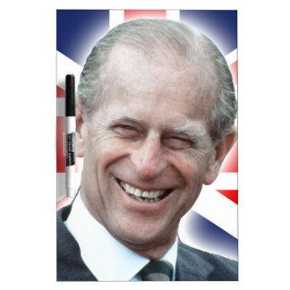 HRH Duke of Edinburgh - Great Dry Erase Whiteboard