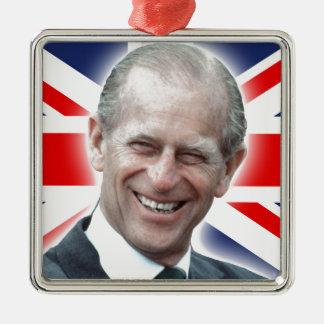 HRH Duke of Edinburgh - Great! Metal Ornament