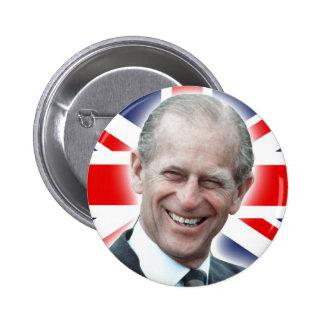HRH Duke of Edinburgh - Great! Pinback Button