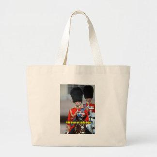 HRH Duke of Edinburgh Large Tote Bag