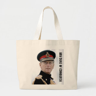 HRH Duke of Edinburgh Large Tote Bag