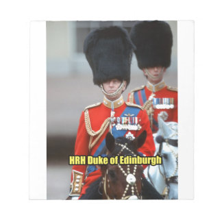 HRH Duke of Edinburgh Memo Note Pads