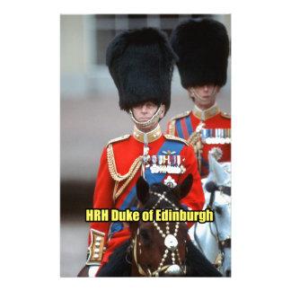 HRH Duke of Edinburgh Stationery Paper