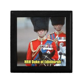 HRH Duke of Edinburgh Trinket Box