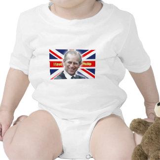 HRH Duke of Einburgh - I love Philip Baby Bodysuit