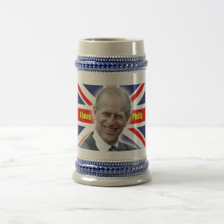 HRH Duke of Einburgh - I love Philip Beer Stein