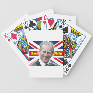 HRH Duke of Einburgh - I love Philip Bicycle Playing Cards