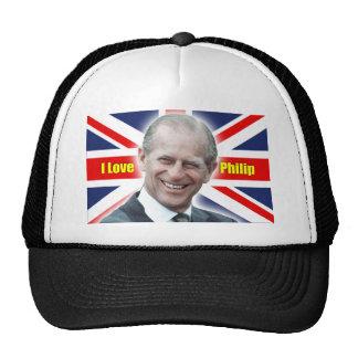 HRH Duke of Einburgh - I love Philip Mesh Hat