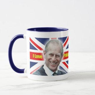 HRH Duke of Einburgh - I love Philip Mug