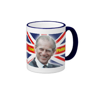 HRH Duke of Einburgh - I love Philip Mugs