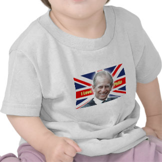 HRH Duke of Einburgh - I love Philip T-shirts
