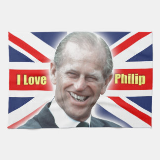HRH Duke of Einburgh - I love Philip Towels