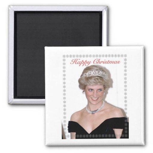 HRH el navidad de la Princesa de Gales Iman Para Frigorífico