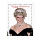 HRH el navidad de la Princesa de Gales Postal