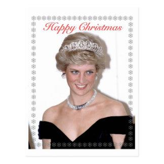 HRH el navidad de la Princesa de Gales Tarjetas Postales