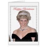 HRH el navidad de la Princesa de Gales Tarjetón