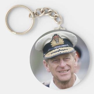 HRH el príncipe Philip, duque de Edimburgo Llaveros Personalizados