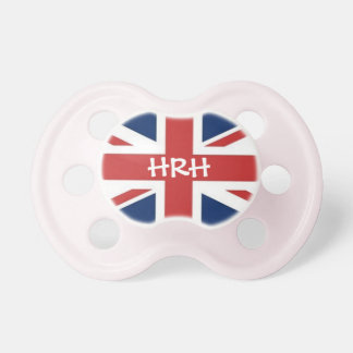'HRH' Her Royal Highness Pacifier