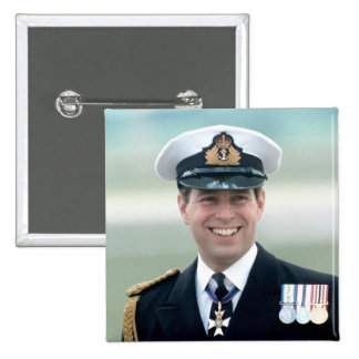 HRH Prince Andrew Pinback Buttons