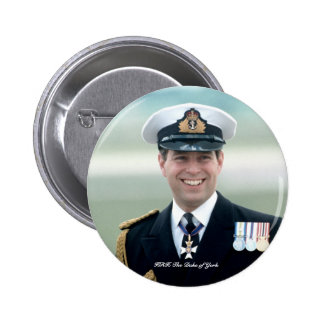 HRH Prince Andrew Button