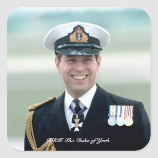 HRH Prince Andrew Stickers