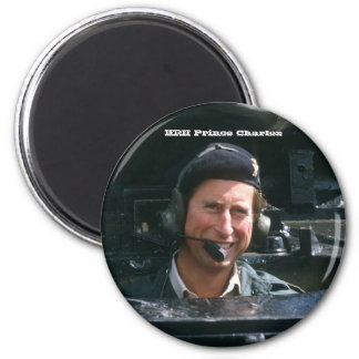 HRH Prince Charles 2 Inch Round Magnet